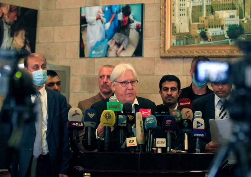 غريفيث يدعو الأطراف اليمنية إلى الاستفادة من الزخم الدبلوماسي الدولي لإنهاء الحرب