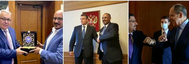 كاتب يمني يكشف دوافع التحرك الروسي في اليمن بعد زيارة الزبيدي ووزير الخارجية وطارق صالح إلى موسكو..!