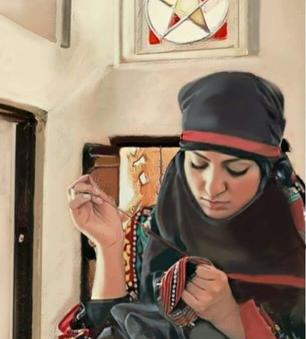 """المجاهد ..فنان يمني أصم أبكم يرسم لوحات ناطقة """"صور"""""""