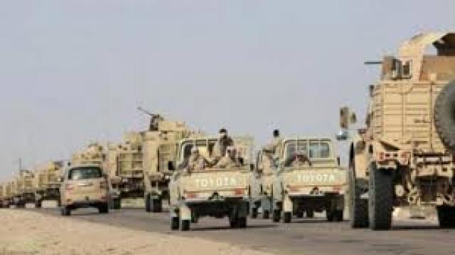 تعزيزات عسكرية كبيرة تصل إلى البيضاء.. متطوعين ووحدات من الجيش الوطني.. !