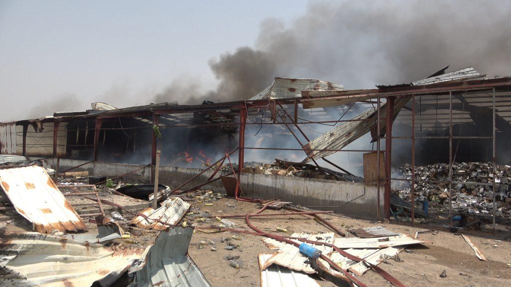 القوات المشتركة تعلن التفاصيل كاملة حول جريمة اعتداء مليشيا الحوثي على ميناء المخا