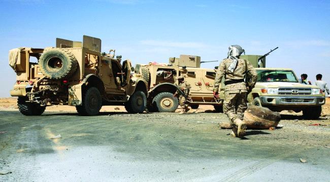 """القوة العسكرية التي غيّرت مسار المعركة جنوب مأرب ودحرت الحوثيين من مواقع إستراتيجية في """"حريب"""""""