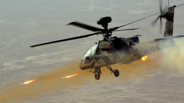 ''الأباتشي'' تدخل على خط المعركة في مأرب والمتسللين الحوثيين باتوا تحت الحصار!